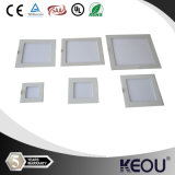 낮은 Price 및 MOQ Ultra Thin Square Round LED Panel Light 3-24W