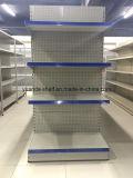 Il supermercato perforato a uso medio del comitato posteriore delle a buon mercato 4 file accantona i fornitori