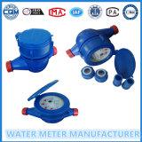 Precio del contador del agua para el material barato de Plasitc