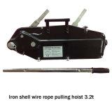 Eisen-Shell-Drahtseil, das Hebevorrichtung-elektrische Handkurbel zieht