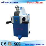 Sistema da soldadura de laser do ouro/jóia