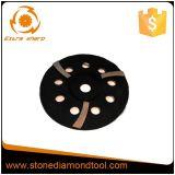 Het dubbele Rij Gesegmenteerde Malende Wiel van de Kop van de Diamant voor het Marmer van het Graniet
