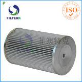 Filtro plissado poliéster do gás de Italy da recolocação de Filterk
