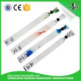 Venta caliente popular de encargo y nuevo Wristband atractivo para Envents