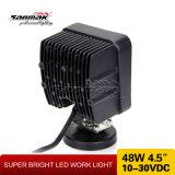 48W het vierkante LEIDENE van de Vrachtwagen CREE Licht van het Werk voor Auto