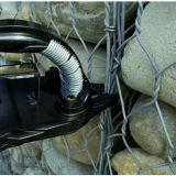 Galvanizado neumáticas anillos de cerdo de Esgrima, furnituring