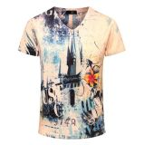 T-shirt da cópia do Sublimation/t-shirt impressão do Sublimation/t-shirt impressos Sublimation