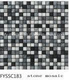 Natural de piedra de mármol del mosaico del azulejo de pared Edificio Baño (FYSSC022)
