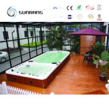 Openlucht AcrylPool Indoor Swim SPA Eindeloze Pool
