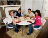 венчание складного столика 5FT круглое обедая таблица банкета