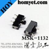 interruptor deslizante de 6pin SMD (MSK-1132)
