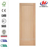 Puerta de madera interior moldeada de madera de la chapa