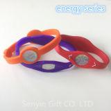 Braccialetto di gomma su ordinazione del silicone del Wristband dei regali di promozione