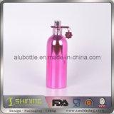 Бутылка высокого качества яркая алюминиевая косметическая с покрытием вакуума