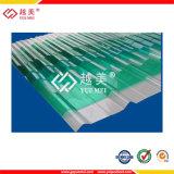 Feuille creuse colorée de polycarbonate (YM-PC-087)