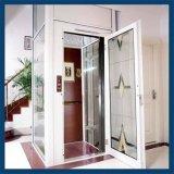 Ascenseur à la maison en verre de villa d'ascenseur de levage d'intérieur de passager