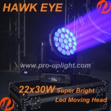 New Hawk Eye 22X30W RGBW 4in1 LED- Lichtstrahl- Moving Head