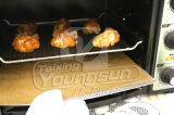OEM Bladen van de Beschermer van de Oven van de Rang van het Voedsel Nonstick Opnieuw te gebruiken