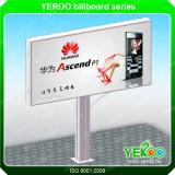 Pubblicità dello Scrolling Backlit Advertisers esterni che fa pubblicità al prezzo del tabellone per le affissioni della strumentazione LED