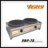 Fabricante comercial del Crepe del gas, máquina de la crepe buena calidad (VP-71)