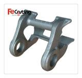 Peça da escavadora do aço inoxidável para a peça de maquinaria da engenharia