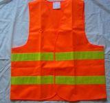 Chalecos verdes anaranjados de la seguridad de la alta visibilidad de En471 Class2