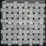 Großhandelsweißes/Schwarzes/Gold/grauer Basalt/Schiefer/Shell/Granit/Glas/Marmor/des Travertin-/Limstone/Steinfliese-Mosaik