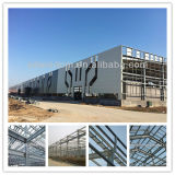 Large Prefab Span Steel Structure para Warehouse