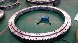 Roulement de pivotement de rouleau croisé par rangée simple pour la machine d'acier d'encavateur
