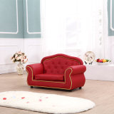 Sofá clásico moderno de los muebles de la sala de estar de los niños