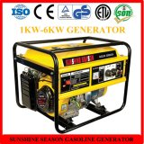 세륨 (SV10000와) 가정 사용을%s 고품질 5kw 가솔린 발전기