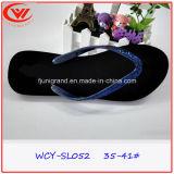 Mode féminine EVA Flip Flops Pantoufle en PVC durable pour femme