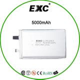 Bateria personalizada da alta qualidade 105283 3.7V 5000mAh Lipo