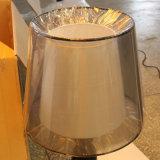 Lámpara de vector negra Polished de cabecera de la resina para el proyecto del hotel