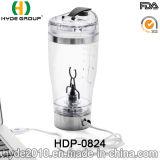 cuvette Stirring du vortex 450ml en plastique portatif populaire, bouteille électrique en plastique personnalisée de protéine de dispositif trembleur (HDP-0824)