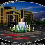 5X4m Cutomized Größen-kleiner Brunnen