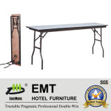 Tabella di banchetto pieghevole della mobilia pratica dell'hotel di rettangolo (EMT-FT605)
