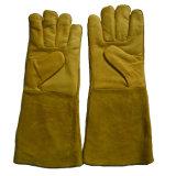 """16 """" gants fonctionnants d'industrie du soudage pour des soudeuses"""