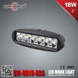 6 indicatore luminoso del lavoro di guida di veicoli di pollice 18W LED (SM-6018-RXA)