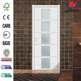 普及した販売新しいデザインガラス木製のドア