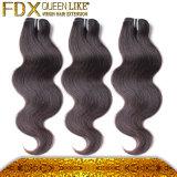 Человеческие волосы выдвижений волос девственницы самых лучших выдвижений волос горячие продавая (FDX-SM-2016-6)