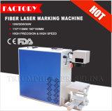 Machine de bureau précise élevée d'inscription de laser de la fibre 20W pour le logo