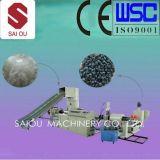 100-500kg / Hora Línea de plástico reciclado y Granulador