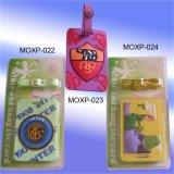 3D pvc van uitstekende kwaliteit Luggage Tag van Plastic Promotional (Lt.-064)