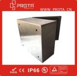 Montaje en la pared del recinto eléctrico caja del panel