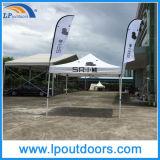 3X3m das im Freienbekanntmachenknallen halbes Wand-Kabinendach oben Zelt für Förderung