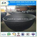 炭素鋼の圧力容器のための皿に盛られたエンドキャップ半球ヘッド