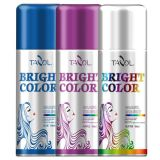Tazol de Todos los Santos temporal del brillo del pelo del aerosol del color 150ml