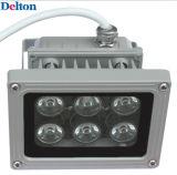 6 LED灰色の適用範囲が広い12W LEDのフラッドライト(DT-FGD-003)