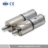 motor pequeno da C.C. de 12V baixo RPM com caixa de engrenagens